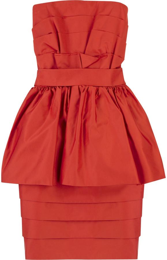 Acne Baroque bustier dress