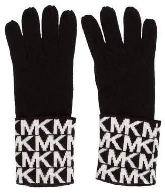 MICHAEL Michael Kors Monogram Knit Gloves