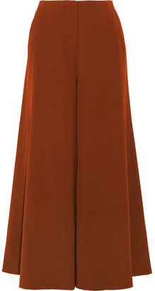 Elizabeth and James - Delany Washed-satin Wide-leg Pants - Copper $375 thestylecure.com