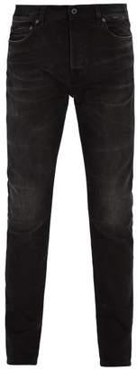 Valentino - Stonewashed Slim Fit Jeans - Mens - Black