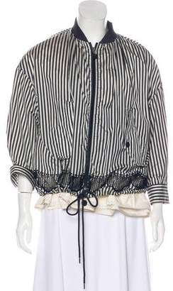 Moncler Striped Lightweight Jacket