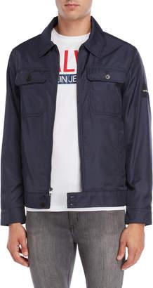 Calvin Klein Jeans Flap Pocket Utility Jacket