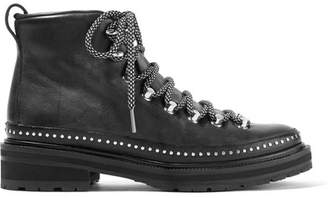 Rag & Bone Compass Ii Studded Leather Ankle Boots - Black