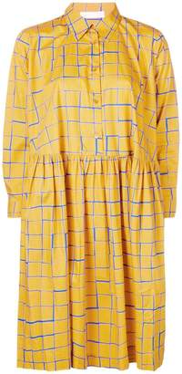 Peter Jensen check shirt dress