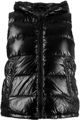 Duvetica hooded padded vest