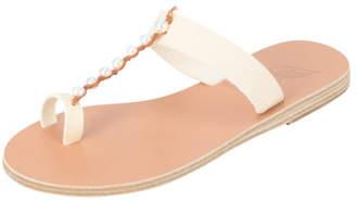 Ancient Greek Sandals Iris Pearls Sandals