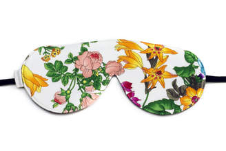 "elizabeth W Elizabethw Silk Sleep Eye Mask ""Floral Blush"""