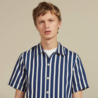 Sandro Short-sleeved shirt with stripes