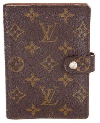 Monogram Small Ring Agenda Cover