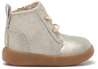 UGG Kristjan Metallic Leather Lace-Up boot (Baby)