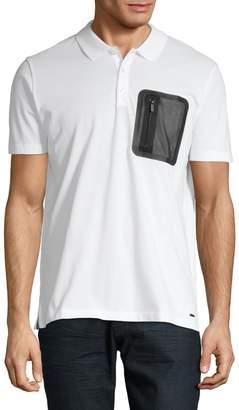 HUGO Short-Sleeve Cotton Polo