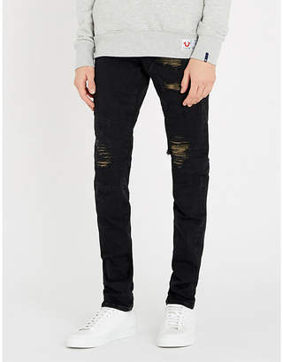 True Religion Rocco slim-fit ripped skinny jeans