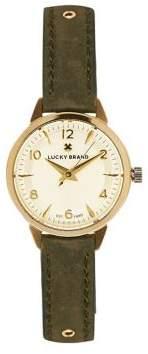 Lucky Brand Torrey Mini Studded Wrap Leather Strap Watch