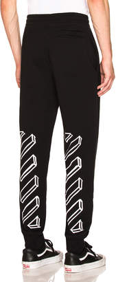 Off-White Off White Marker Arrows Sweatpant in Black | FWRD