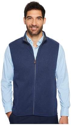 Vineyard Vines Dressy Sweater Fleece Vest Men's Vest