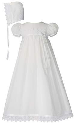 Little Things Mean a Lot Christening Gown & Hat Set