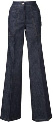 Derek Lam Charlotte High Waist Flare Jean