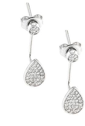 Diamond Select Cuts 14K 0.20 Ct. Tw. Diamond Drop Earrings