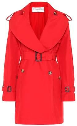 Valentino Cotton and silk trench coat