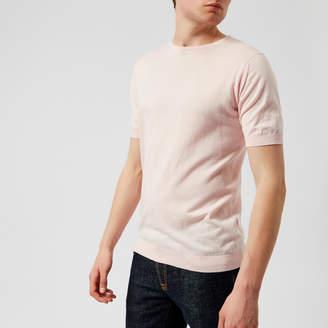 John Smedley Men's Belden 30 Gauge Sea Island Cotton T-Shirt