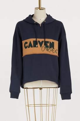 Carven printed hoodie