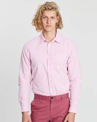Jack Wills Ruxton Classic Poplin Gingham Shirt