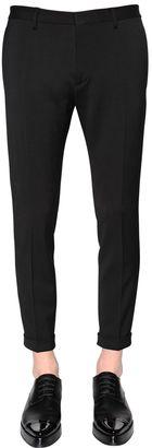 15cm Skinny Stretch Wool Cady Pants $720 thestylecure.com