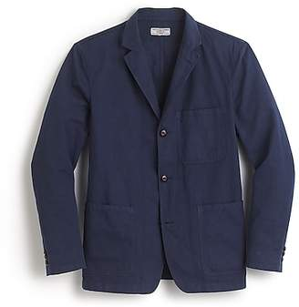 J.Crew Wallace & Barnes garment-dyed chore blazer