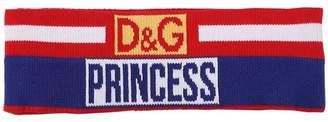 Dolce & Gabbana Princess Logo Wool Jacquard Headband