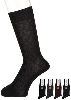 メンズ靴下 【イルレガロ】キカリンクスソックス
