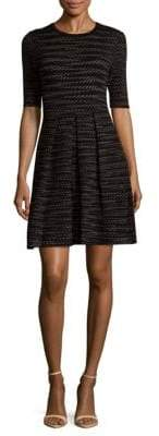 M Missoni Knit Texture Short Dress
