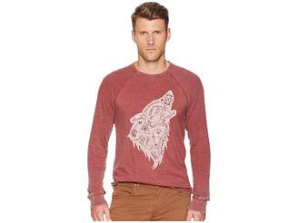 Lucky Brand Wolf Dreams Thermal Tee