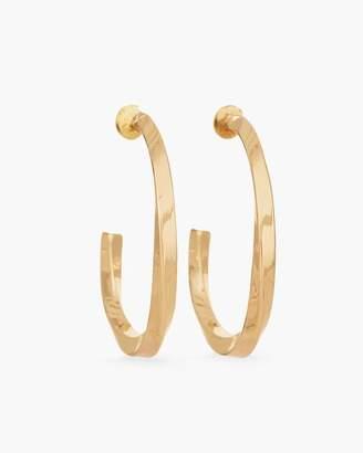 Chico's Gabi Twisted Hoop Earrings