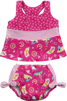 I Play Tankini Set Swim Nappy (12-18 Months
