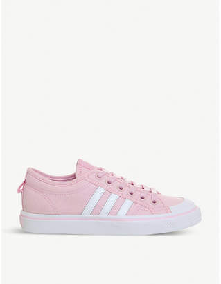 adidas Nizza canvas low-top trainers