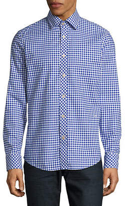 G Star Bristum Gingham Cotton Sport Shirt