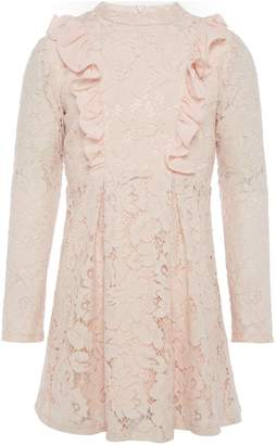 Bardot Junior Girls Long Sleeved Frilly Lace Dress