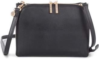 Celine Dion Triad Leather Crossbody Bag