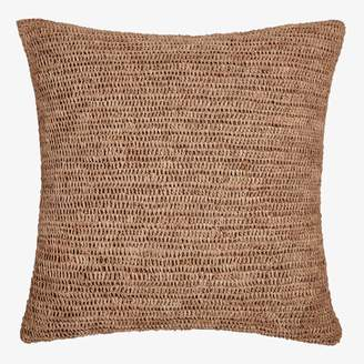 Sil'ouette Crochet Raffia Pillow Natural