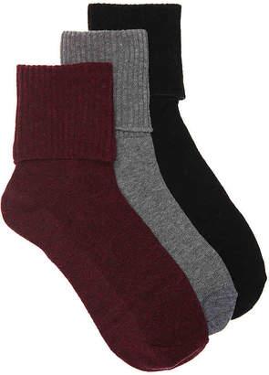 Keds Turn Cuff Ankle Socks - 3 Pack - Women's