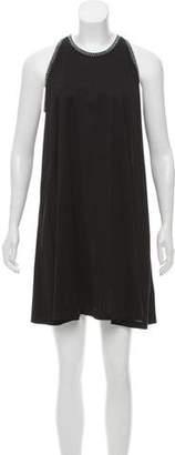 Balenciaga Embellished Mini Dress