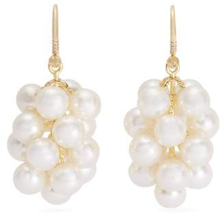 Irene Neuwirth Akoya Pearl And Yellow Gold Earrings - Womens - Pearl