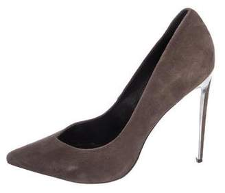 Rachel Zoe Suede Pointed-Toe Pumps