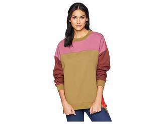 Blank NYC Multicolored Sweatshirt in Boozy Rainbow