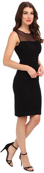 Calvin Klein Illusion Top Cocktail Dress