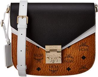MCM Patricia Small Visetos Shoulder Bag