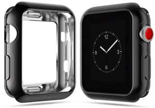 clear TSV Plating Skin Full Cover Protector TPU All-Around Protective Case 0.2mm HD Ultra-Thin Cover For 38/42mm Apple Watch Series 1/2/3