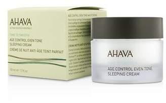 Ahava NEW Time To Smooth Age Control Even Tone Sleeping Cream 50ml Womens Skin