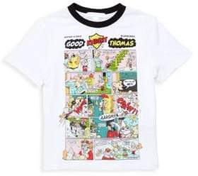 Burberry Little Boy's& Boy's Comic Cotton Tee