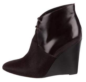 Burberry Ponyhair Ankle Boots